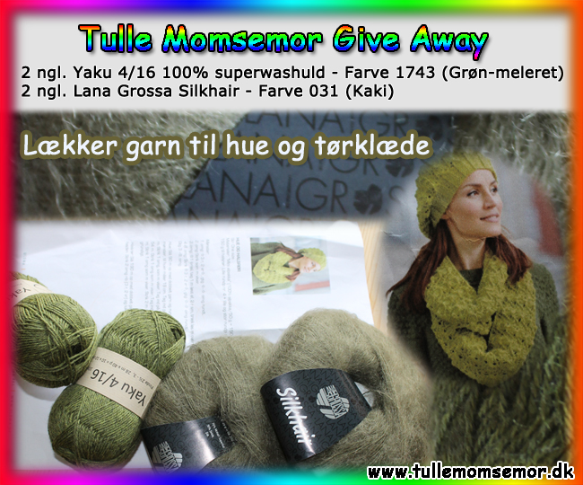 TulleMomsemor Give Away Garn