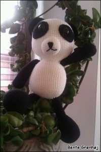 Panda af Bente Grønhøj