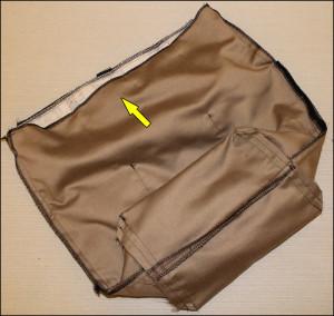Taskerne syes sammen