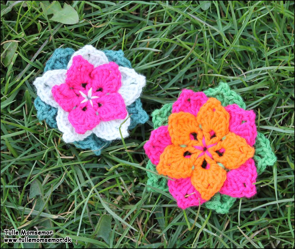 Blomster Broche af Annette Petavy Design topsy.one