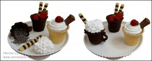 Large Cordial Cup - Norma Lynn Cake Sachets
