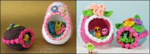Panorama Eggs - Norma Lynn Cake Sachets