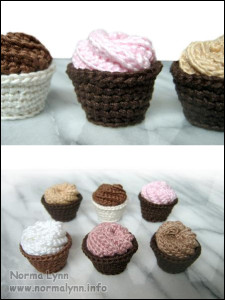 Scrubbie turned to Cordial Cup Spiral Whipped Cream - Norma Lynn Cake Sachets