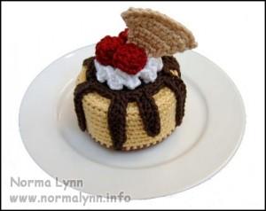 Sundae Oh La La Cheesecake - Norma Lynn Cake Sachets