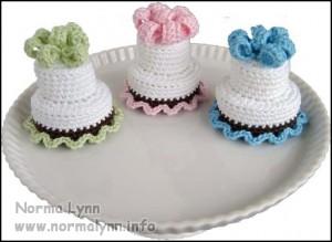 Two-Tier Cake - Norma Lynn Cake Sachets