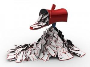 E-mail overbelastning