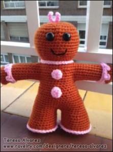Glad Honningkage Baby af Teresa Alvarez
