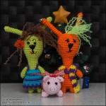 Kælegrisen sammen med Gurli og Hippie Svend