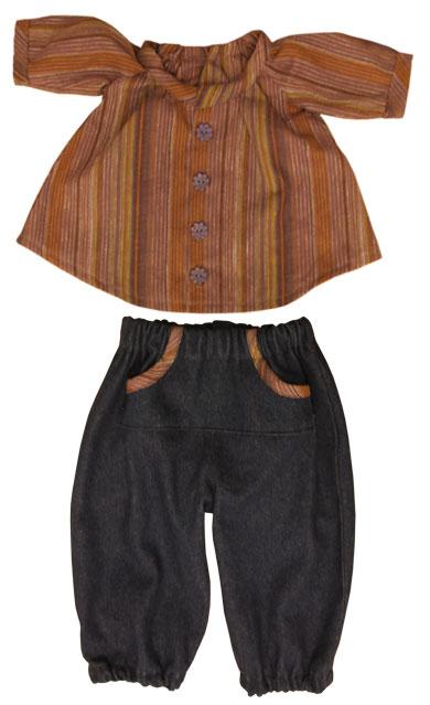 Cowboy bukser og bluse
