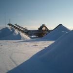 Lørdag i sne
