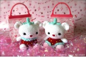 Jordbær Bamser