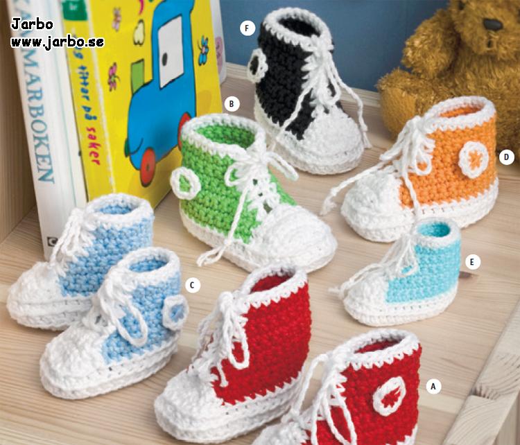 Converse babystøvler   Babystrikning, Baby converse, Mønstre