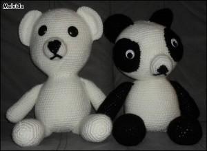 Bamse & Panda af Malvida