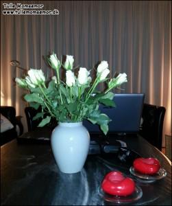 Blomster fra svigerinde Lene