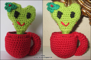 Nannas hjerte kaktus