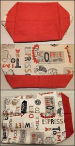 Kreataske - Udvendig taske færdig
