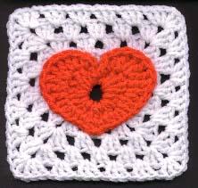 Jackie's Heart Granny Square