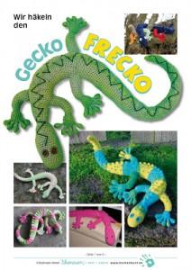 Gecko Frecko af Raphaela