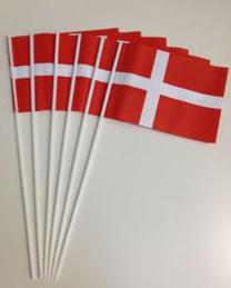 Fødselsdags flag på plastpind