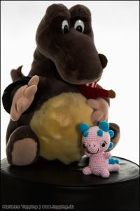 Edgar & Baby Dragen